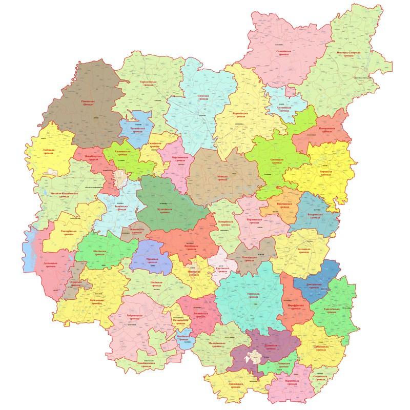 Кабмін вніс зміни до перспективного плану формування територій громад Чернігівської області