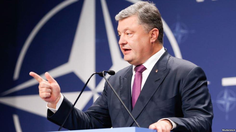 Порошенко внесе до ВР зміни до Конституції щодо вступу України в ЄС та НАТО