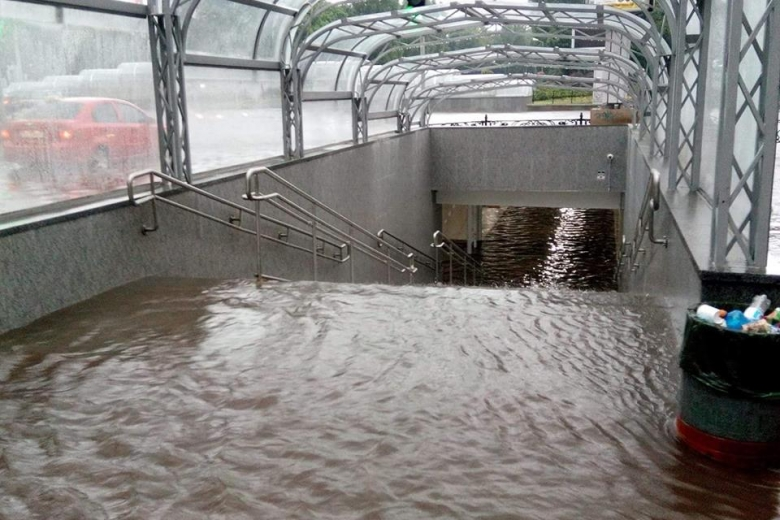 Чернігів затопило: наслідки зливи