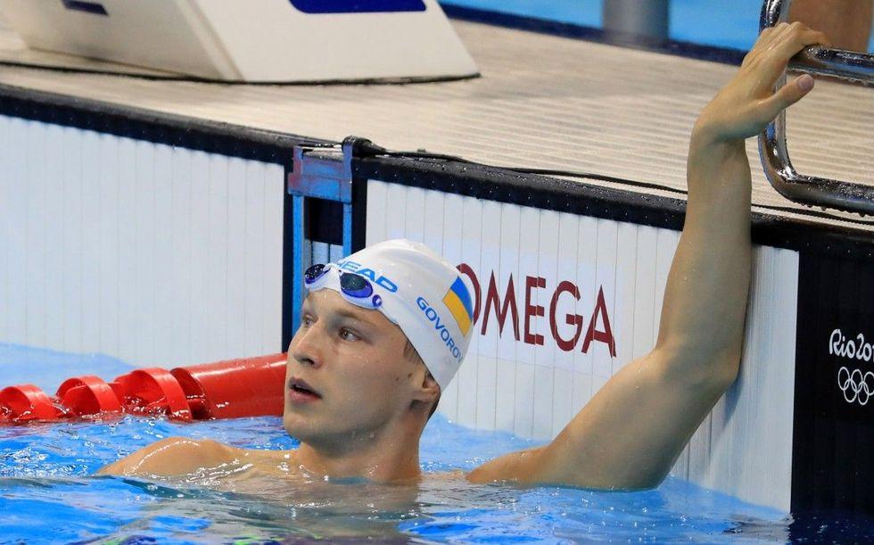 Українець Говоров встановив новий світовий рекорд з плавання