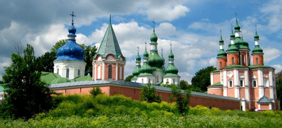 Історико-архітектурна пам'ятка Густинський монастир • Місто Прилуки