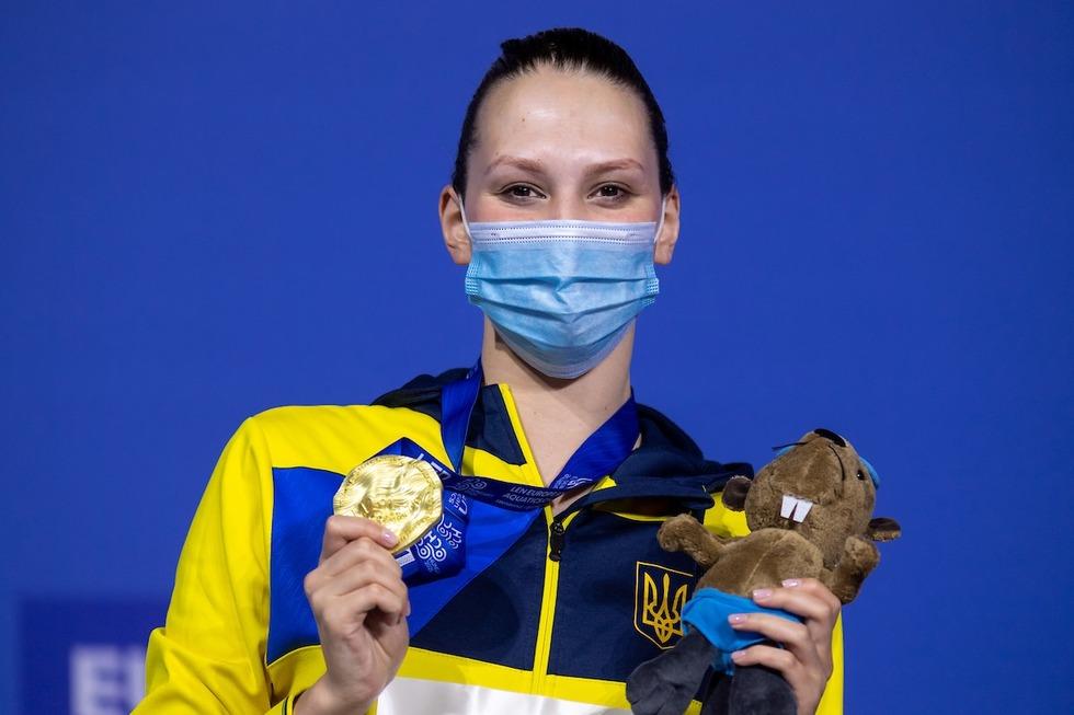Україна виборола дві золоті нагороди на чемпіонаті Європи з водних видів спорту