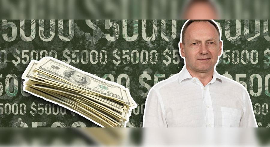 Мер Чернігова пообіцяв 5000$ за докази корупції в його команді