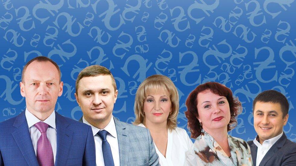 Від 30 до 62 тисяч: які зарплати отримують очільники найбільших міст на Чернігівщині