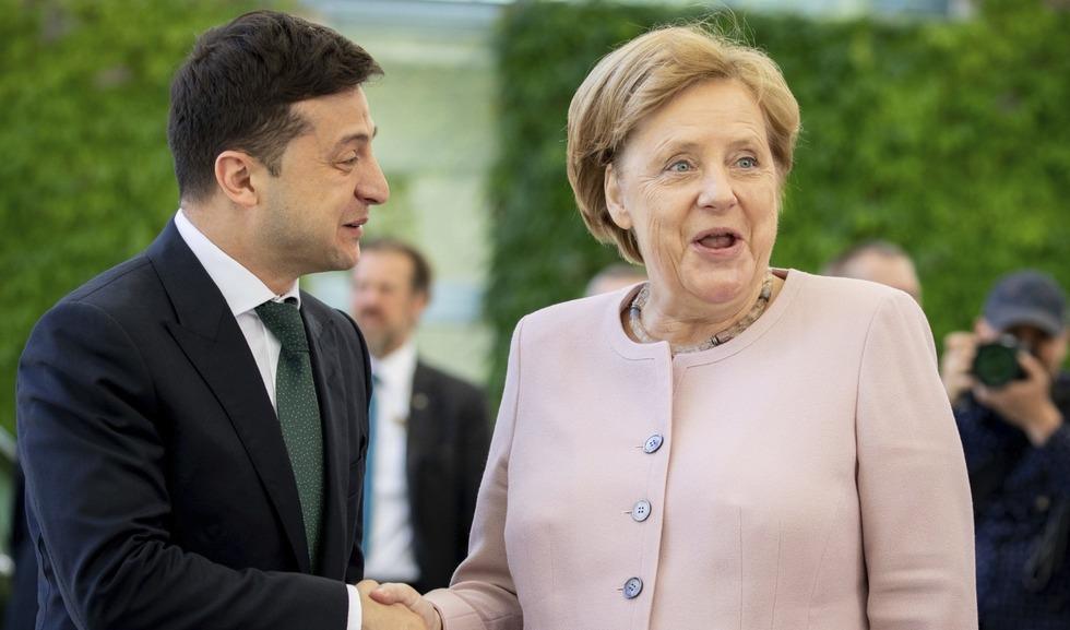 Зеленський у Берліні повечеряє з Меркель