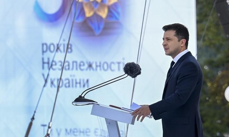 Промова Зеленського з нагоди 30-ї річниці незалежності України